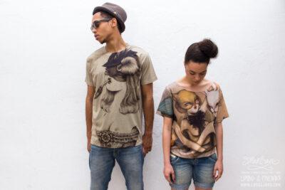 Pipa and Bailarinas shirts