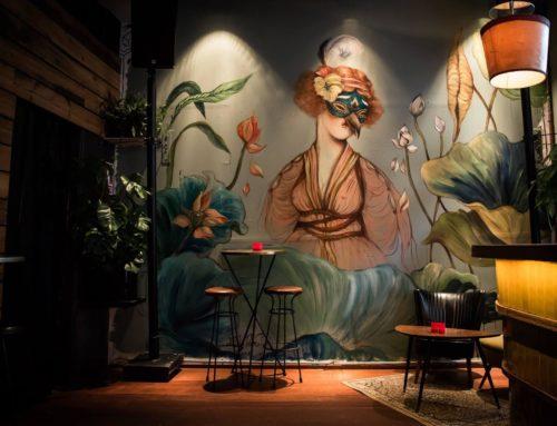 Mural at Guzzo Bar