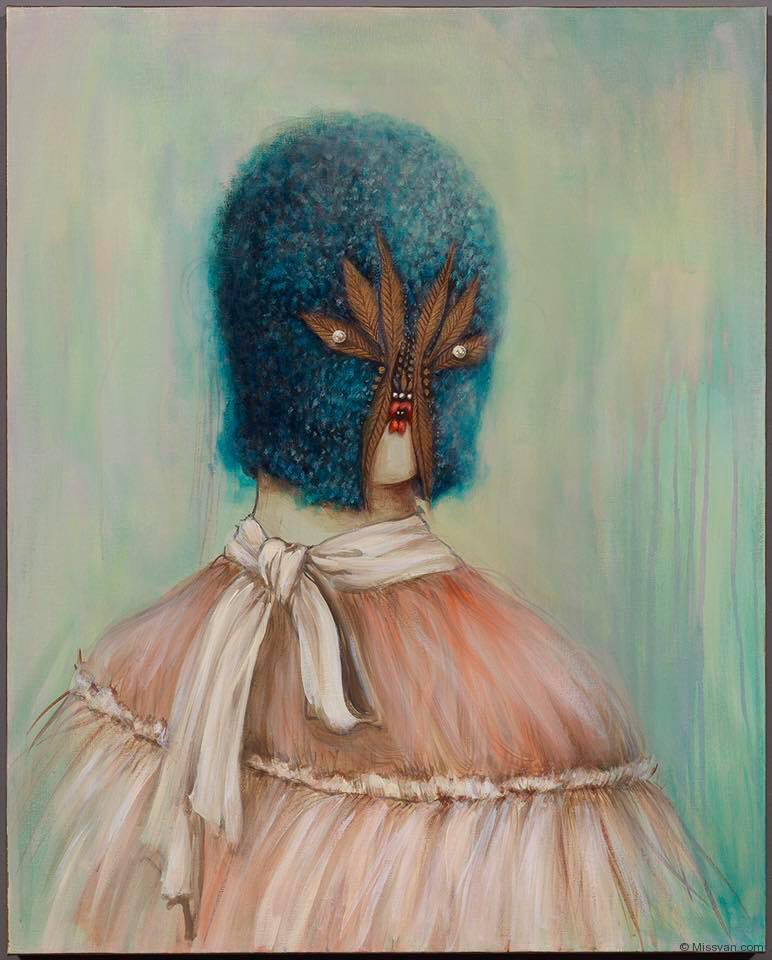 Lady Blue, Miss Van, 2016