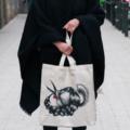 Mujer Pajaro 1 – Tot Bag