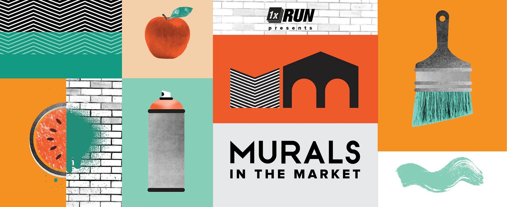Murals In The Market - Detroit, 2015