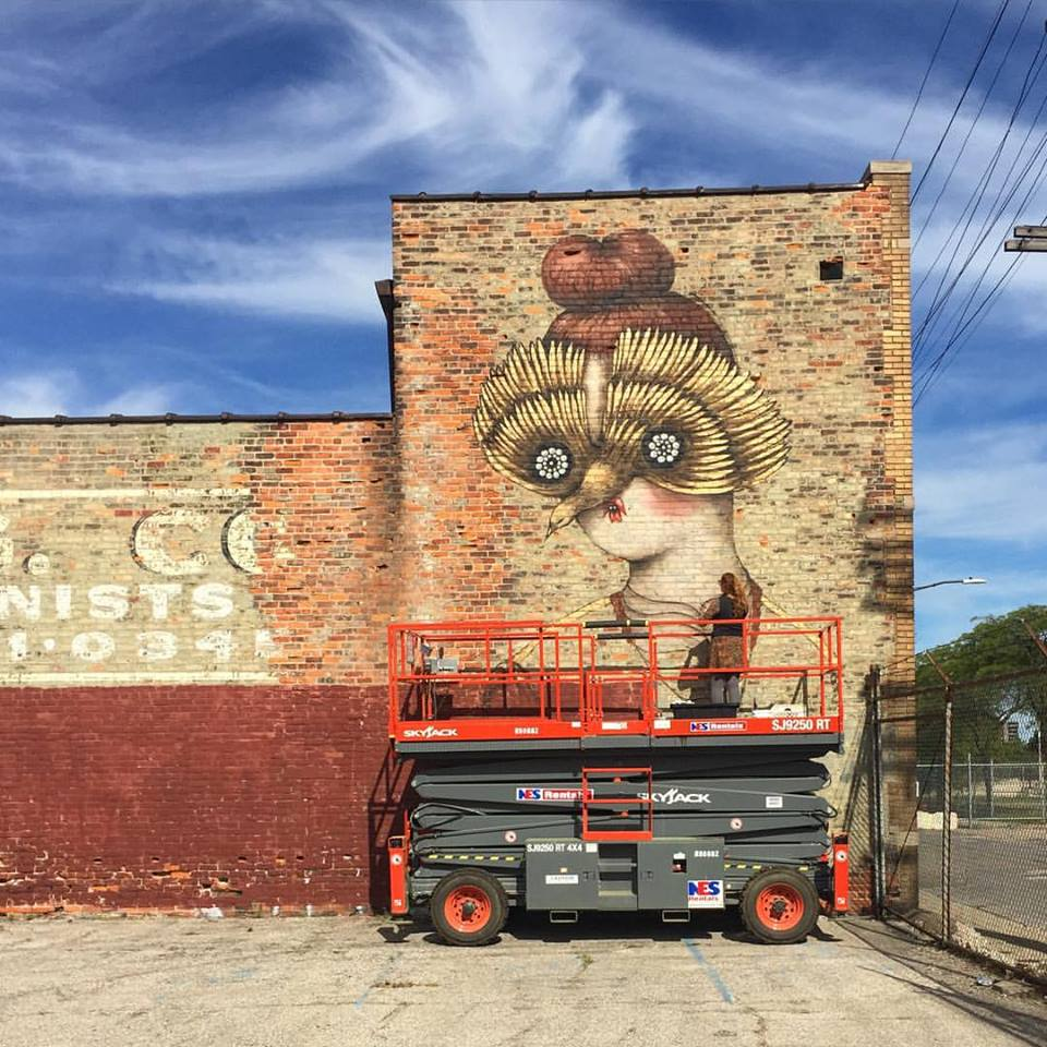 Murals In the Market, Detroit, Sept 2015