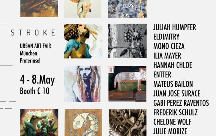 stroke art fair 2016 - Fusion Gallery BCN