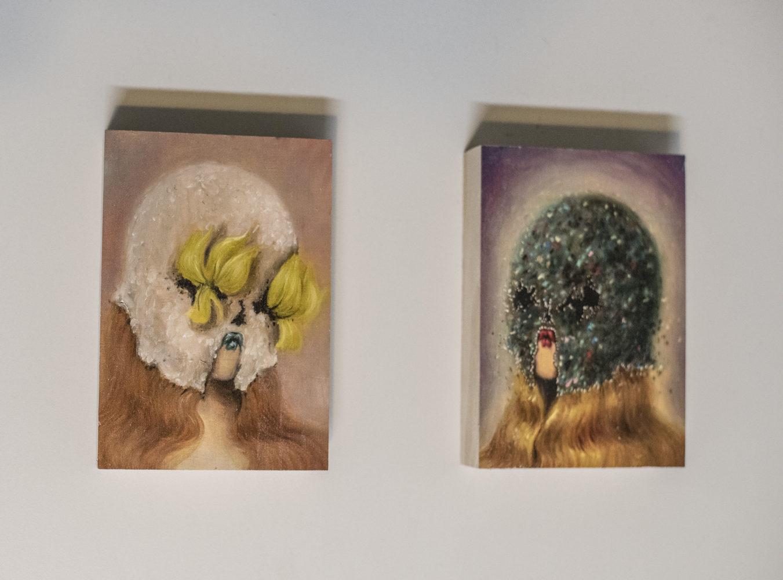 Tiny Muse I & II - Wood Print - Miss Van