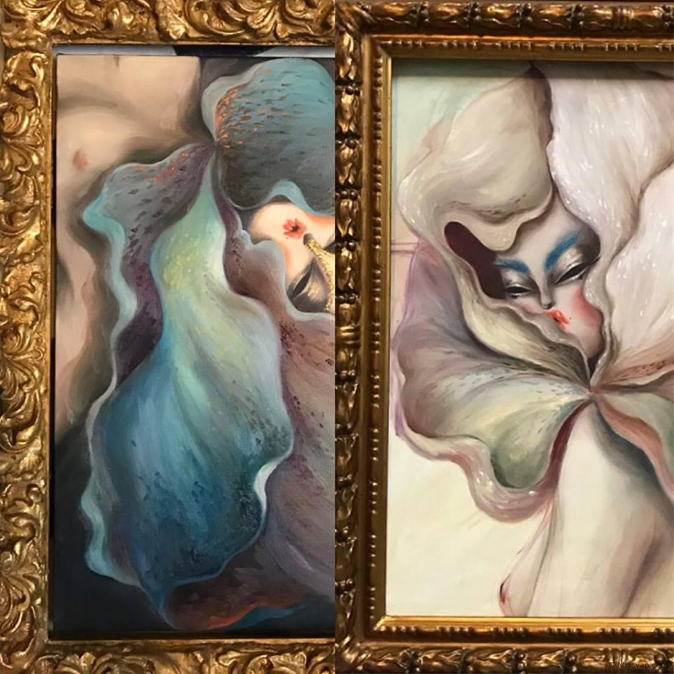 Blooming Muse II & III