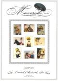 Mascarade – postcard set by Miss Van