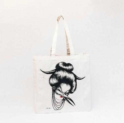 Mujer Pajaro 2 - Tote Bag