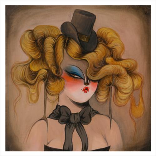 Dancing Hair 1 - Miss Van Print
