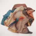 Two Muses Silk Scarf by Miss Van