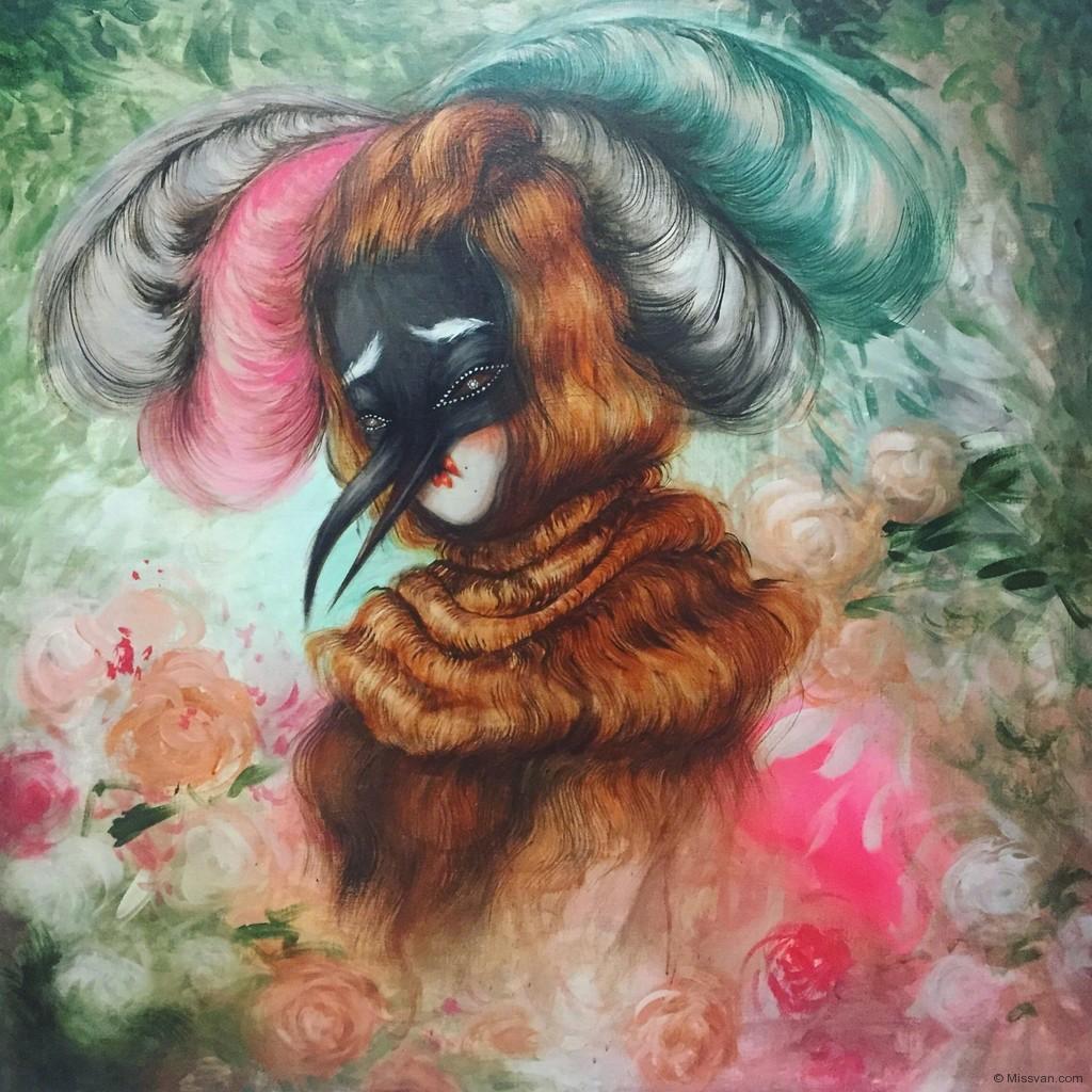 Retrato Floral III, 2016