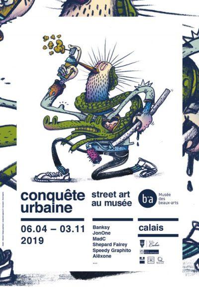 2450cf19c Conquete Urbaine - Musee des Beaux Arts de Calais - Group show - Miss Van